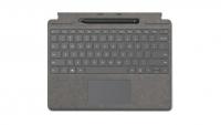 Клавиатура Microsoft Surface Pro X Signature Keyboard with Slim Pen Alcantara (Platinum)