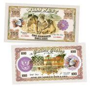100 долларов США - Траппер (Trapper). Памятная банкнота