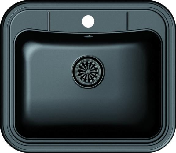 Врезная кухонная мойка Ewigstein Antik 60 60х52см