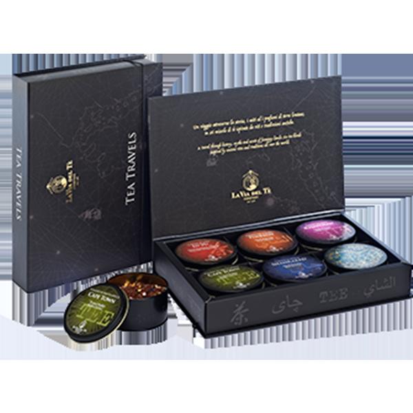 GFB11 Подарочный набор Чайное путешествие 6 шт х 40 г, Tea travels 6 pz x 40g