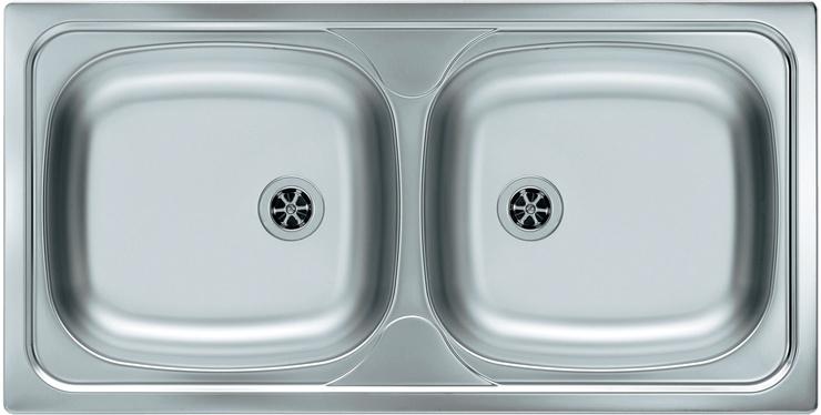 Врезная кухонная мойка ALVEUS Basic 70 86х43.5см