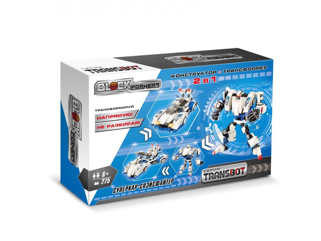 1TOY Blockformers Transbot конструктор  Суперкар-Спэйсфайтер , коробка