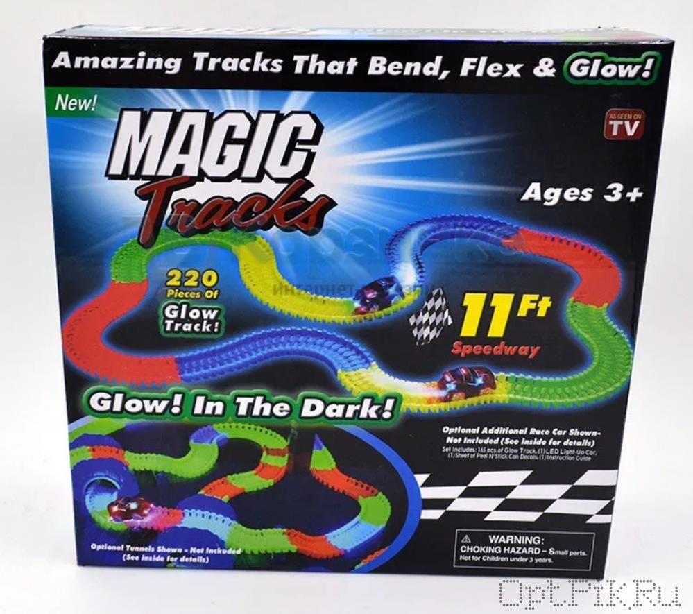 Magic Track гоночная трасса 220 деталей
