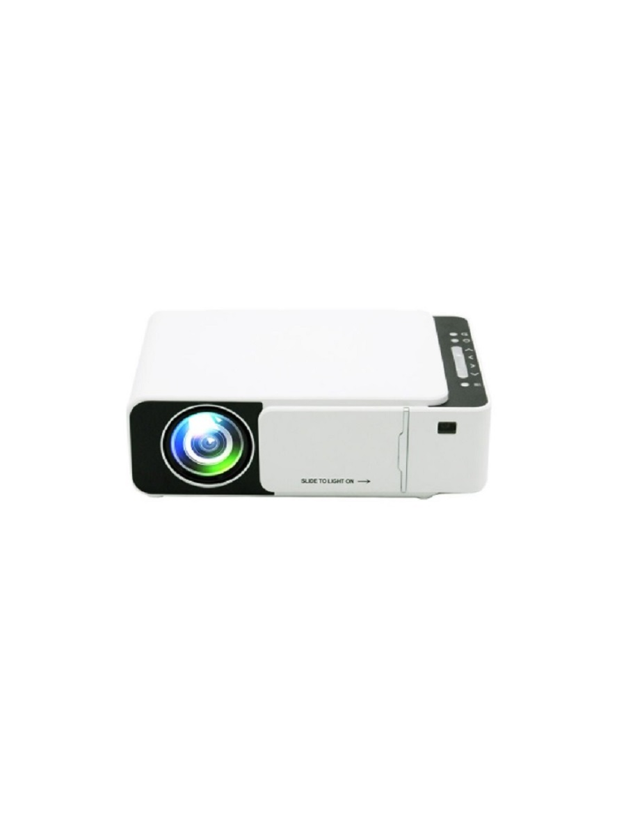 Проектор Unic T5s белый с функцией подключения смартфона