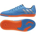 Детские футзалки adidas Messi 16.3 IN голубые