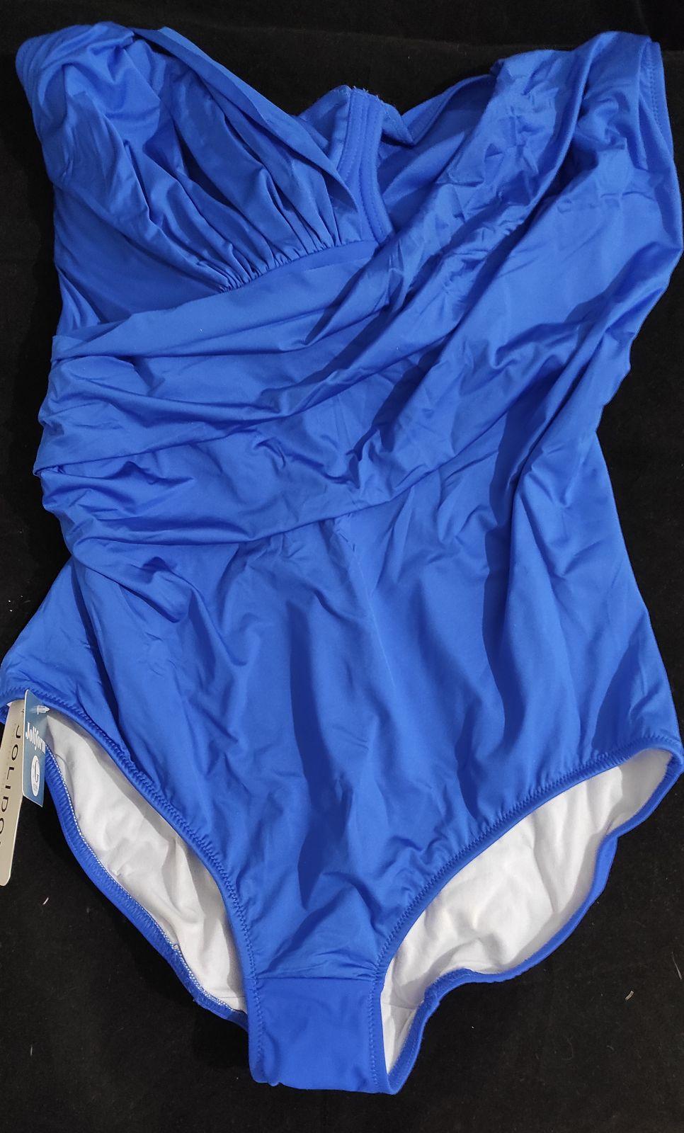 Купальник F2425U 20 совместный Jolidon синий L/G DSK