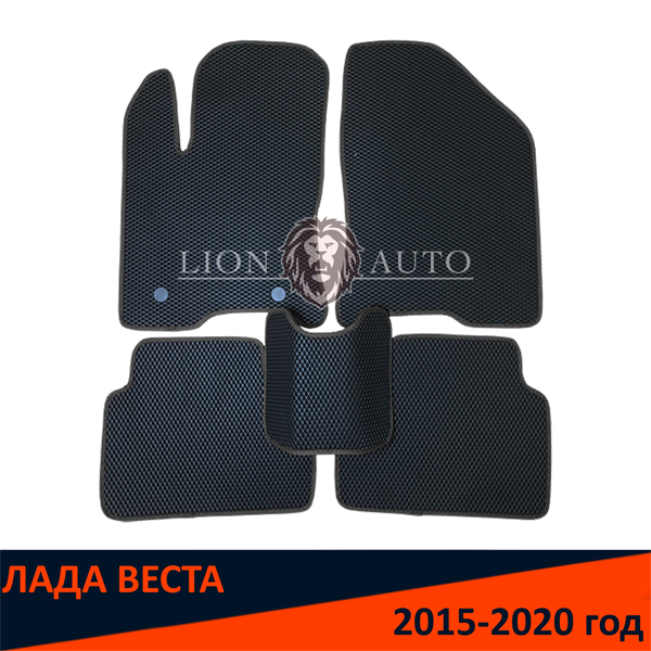 EVA коврики на ЛАДА ВЕСТА (2015-2020г)