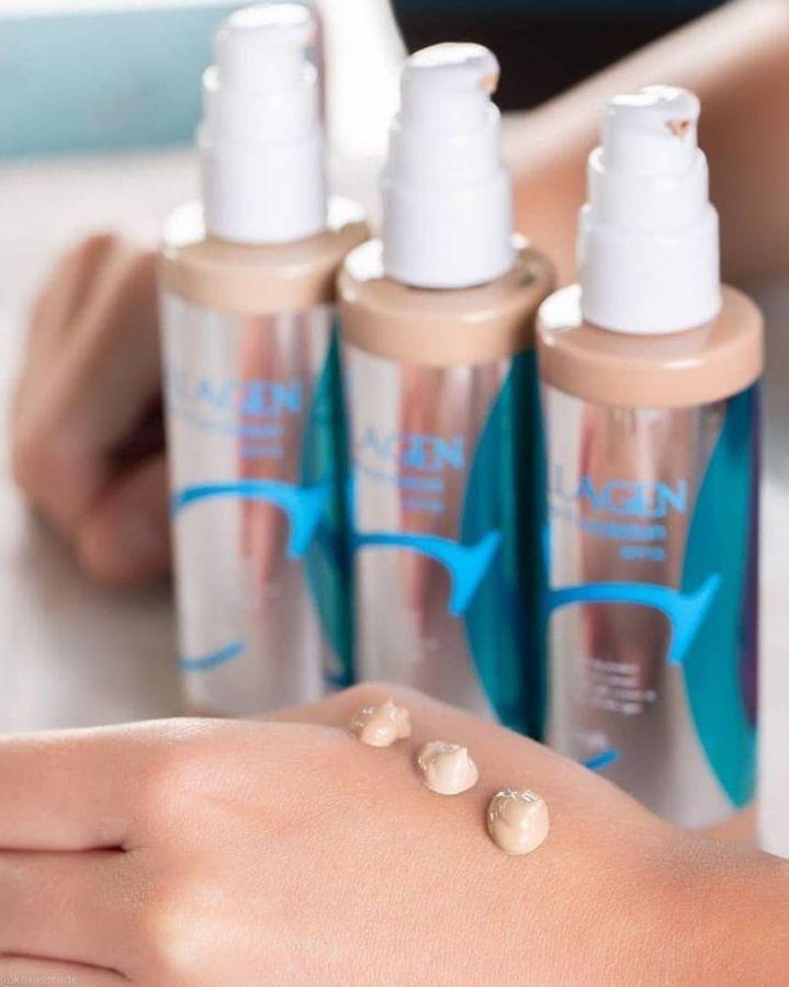 Тональная основа с увлажнением #23 ENOUGH Collagen moisture foundation #23 100ml