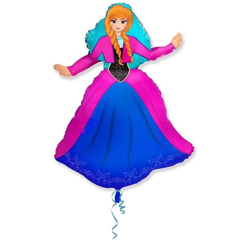 Персонаж 2 шар фольгированный фигурный с гелием