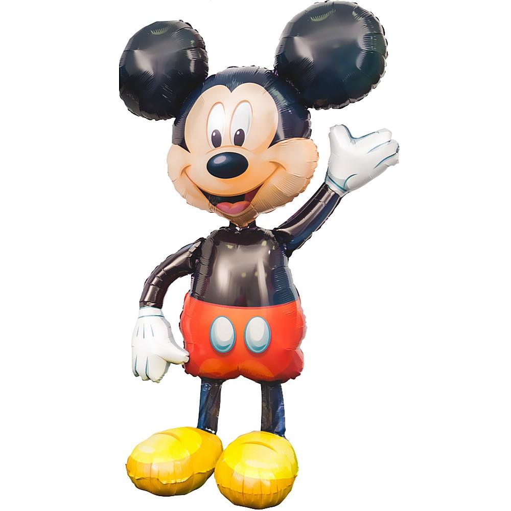 Микки Маус ходячий шар фольгированный с гелием