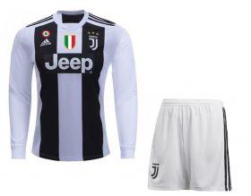 Домашняя форма Ювентуса с длинным рукавом (Juventus) сезон 2018-2019