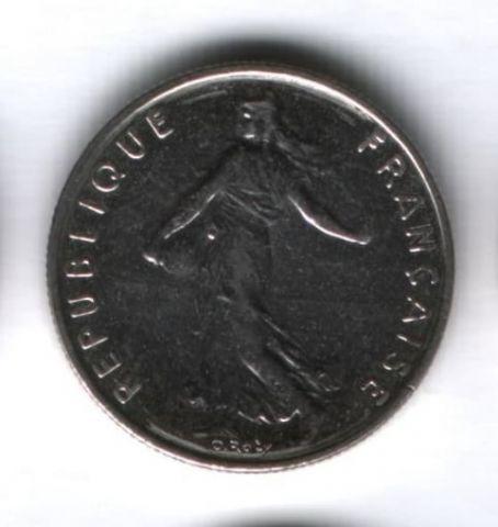 1/2 франка 1995 года Франция