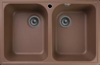 Кухонная мойка GranFest Quarz Z-15 Терракот