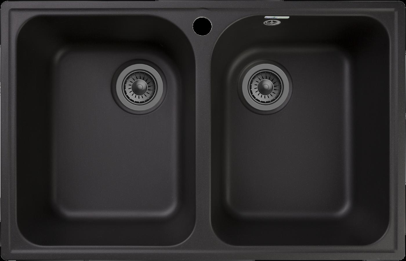 Кухонная мойка GranFest Quarz Z-15 Черный