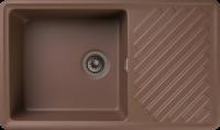 Кухонная мойка GranFest Quarz ZL-53 Терракот