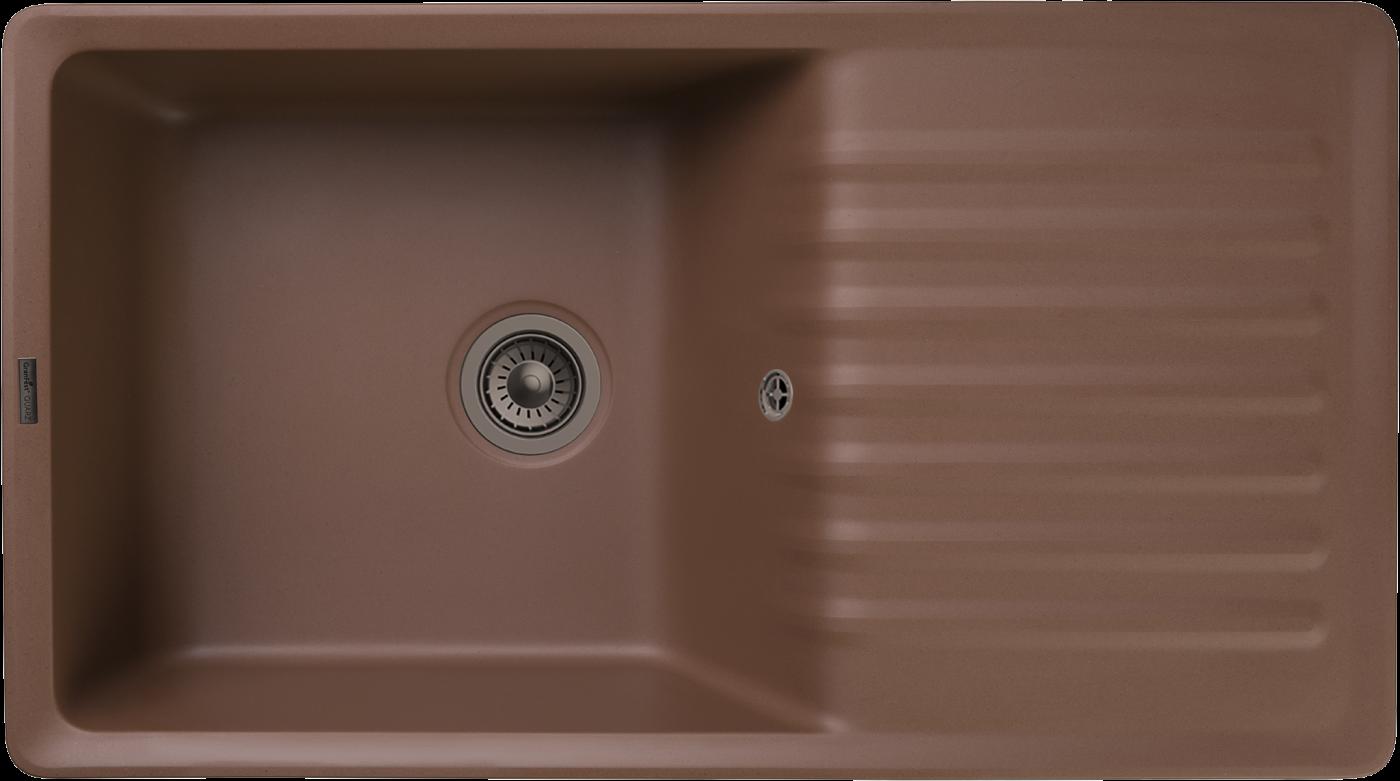 Кухонная мойка GranFest Quarz ZW-73 Терракот