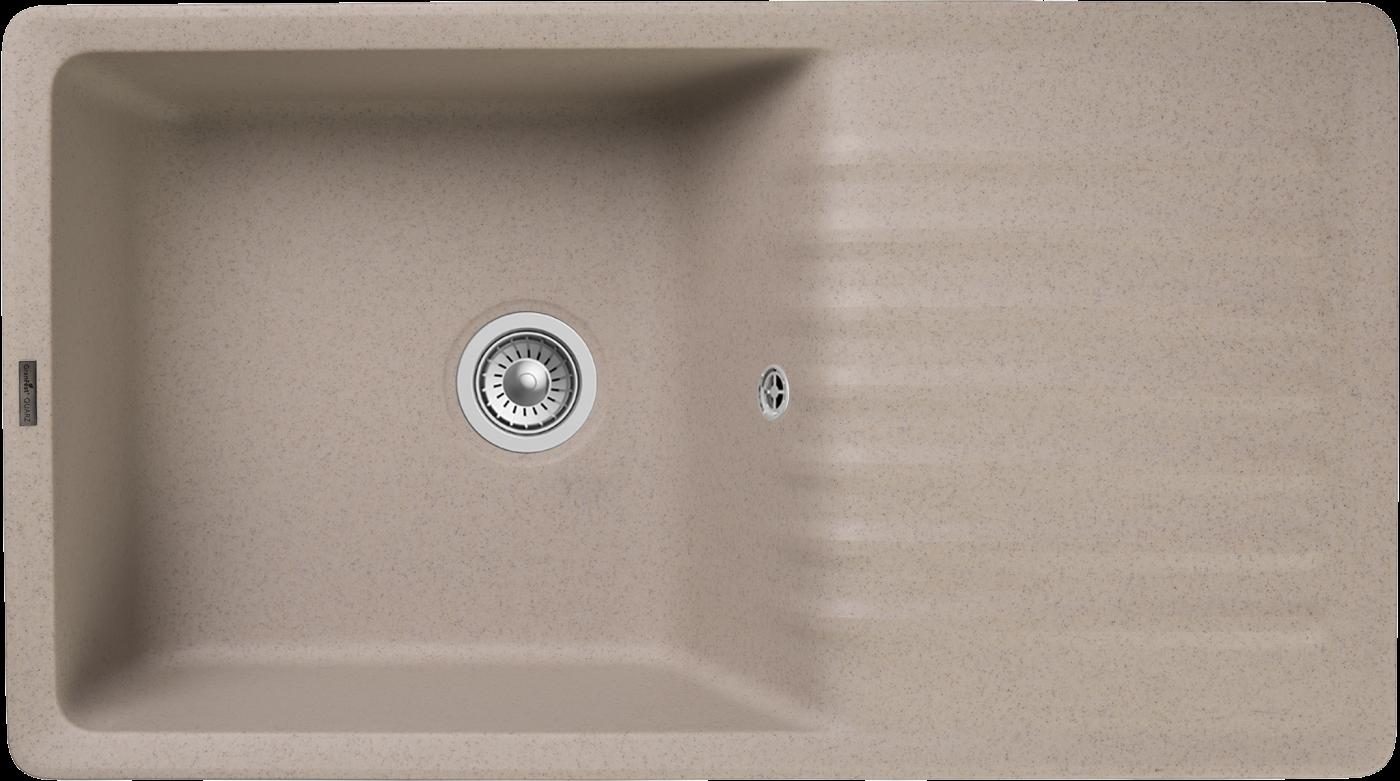 Кухонная мойка GranFest Quarz ZW-73 Песочный