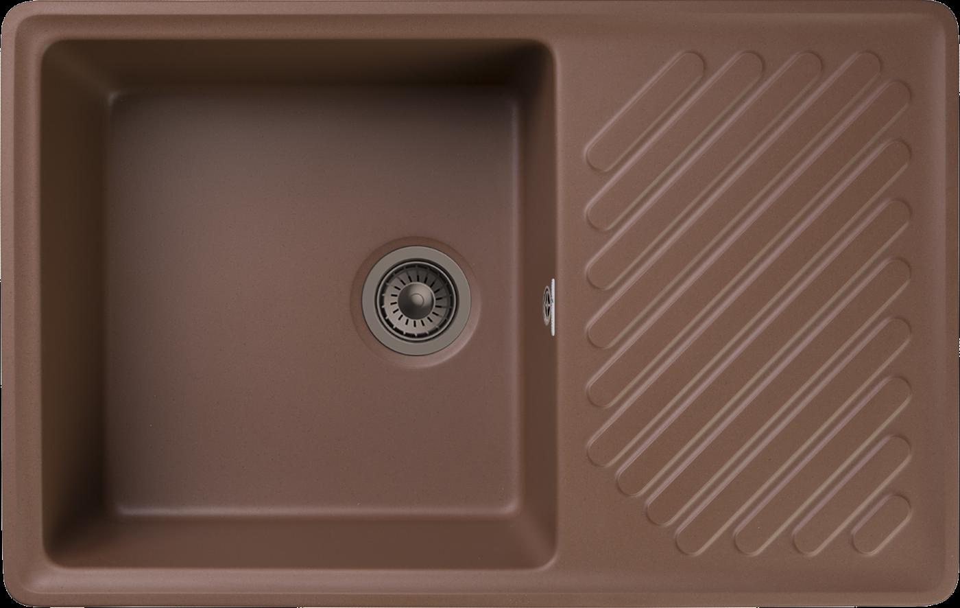 Кухонная мойка GranFest Quarz ZL-52 Терракот