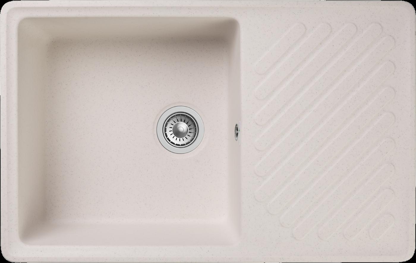 Кухонная мойка GranFest Quarz ZL-52 Белый