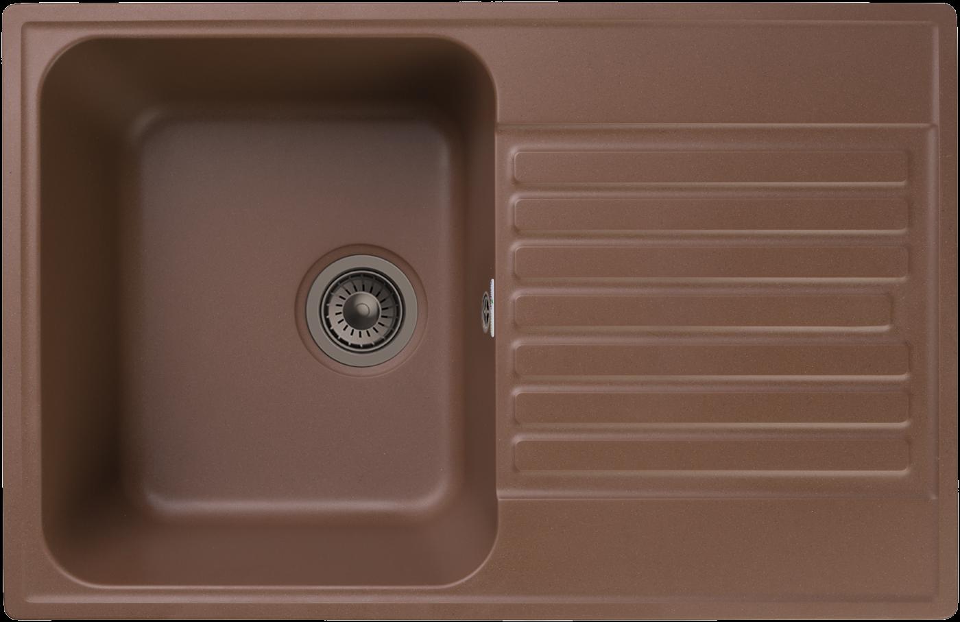 Кухонная мойка GranFest Quarz Z-78 Терракот