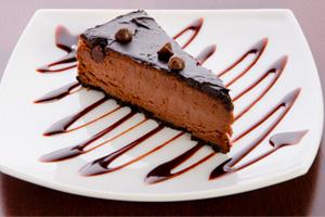 Чизкейк шоколад