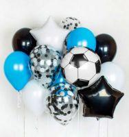 Букет из гелиевых шаров Футбол