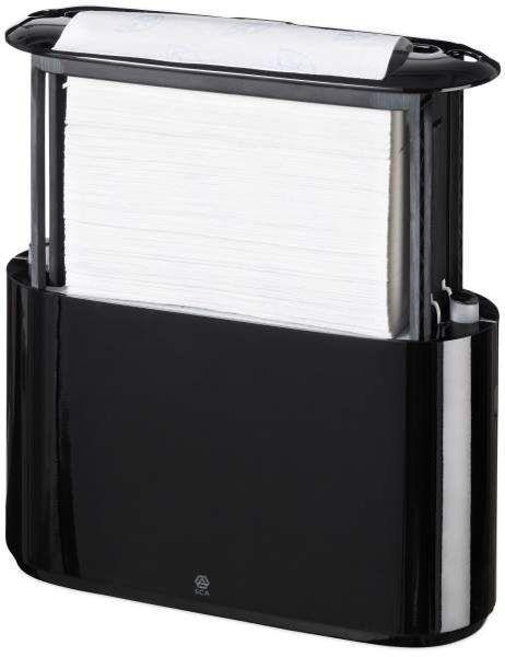 Tork Хpress настольный диспенсер для полотенец сложения Multifold, черный, 552208