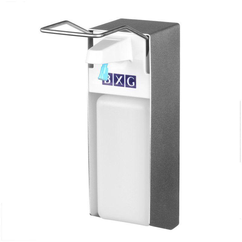 Диспенсер для жидкого мыла локтевой, механический, 1л, 223619