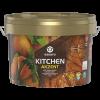 Влагостойкая Краска 2.7л Eskaro Akzent Kitchen Матовая Особо Прочная для Внутренних Работ