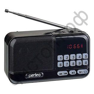 Колонка универс.с радио Perfeo ASPEN FM+ 87.5-108МГц/ MP3/ питание USB или 18650/черный (i20))