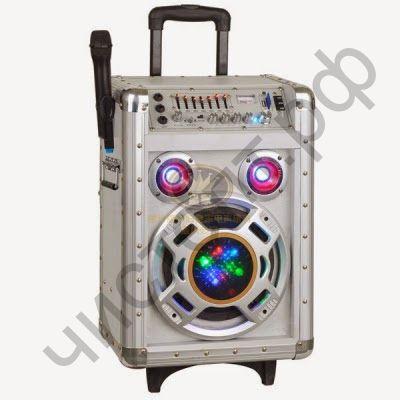 Колонка универс.с радио Орбита SD-A8 напольн акуст 80W пит. 220в ,12в., аккум.7000mAh радиомикр. в компл FM,ду