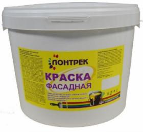 Краска ВДАК 10-11 Фасадная Lontrek 15кг / Лонтрек