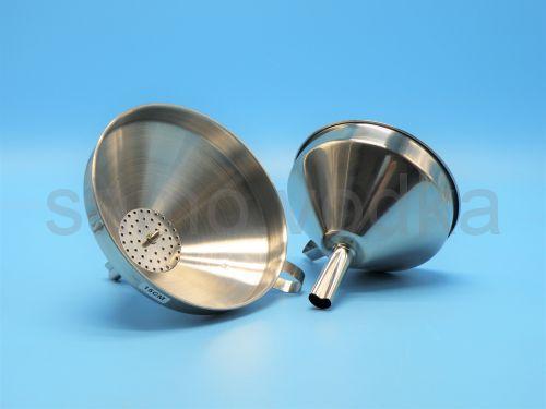 Воронка из нержавеющей стали, диаметр 11 см