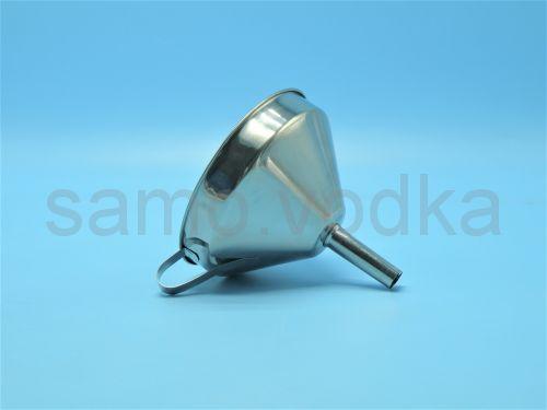 Воронка из нержавеющей стали, диаметр 13 см