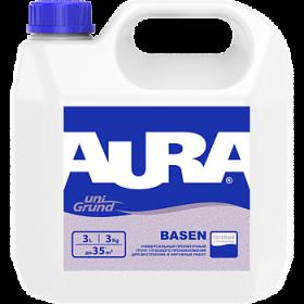 Универсальный Грунт Глубокого Проникновения Aura 10л Unigrund Basen для Наружных и Внутренних Работ