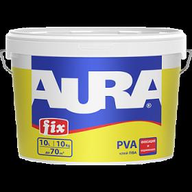 Высококачественный Клей ПВА Aura 10л Fix PVA