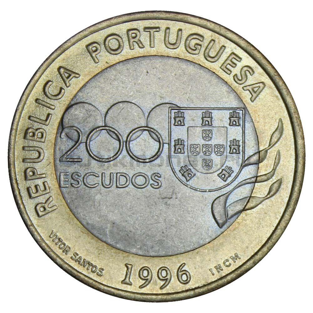 200 эскудо 1996 Португалия XXVI летние Олимпийские Игры, Аталанта 1996