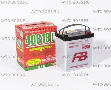 Аккумулятор FB SUPER NOVA  FB 40B19L Ёмкость 38 Ah, пусковой ток 330 А, 185x125x227