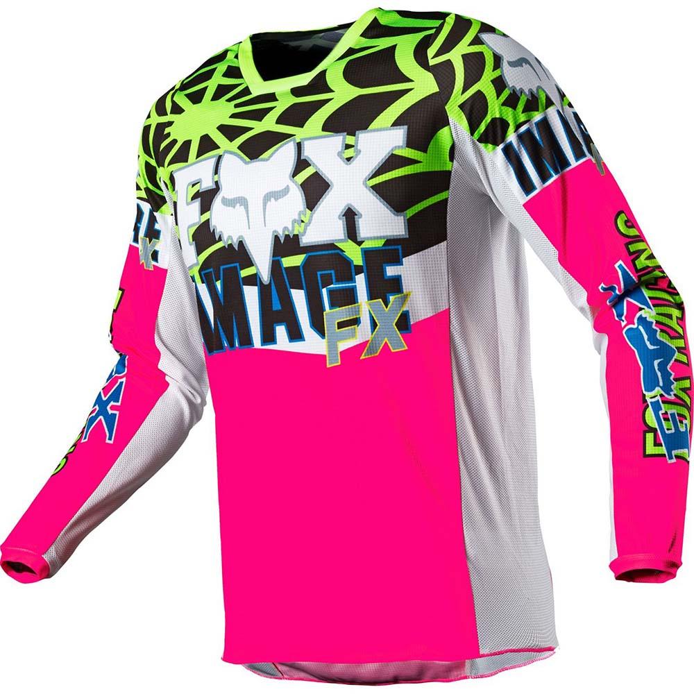 Fox 2021 180 Heritage Venin Pink LE джерси для мотокросса