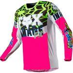 Fox 2021 180 Heritage Venin Jersey Pink джерси для мотокросса
