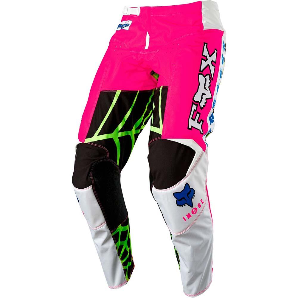 Fox 2021 180 Heritage Venin Pink LE штаны для мотокросса