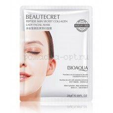 BIOAQUA Beautecret Peptide Skin Secret Collagen гидрогелевая