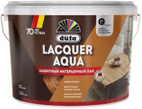 Лак Универсальный Dufa Lacquer Aqua 2.7л Акриловый, Матовый, Полуглянцевый для Внутренних Работ / Дюфа Лакер Аква