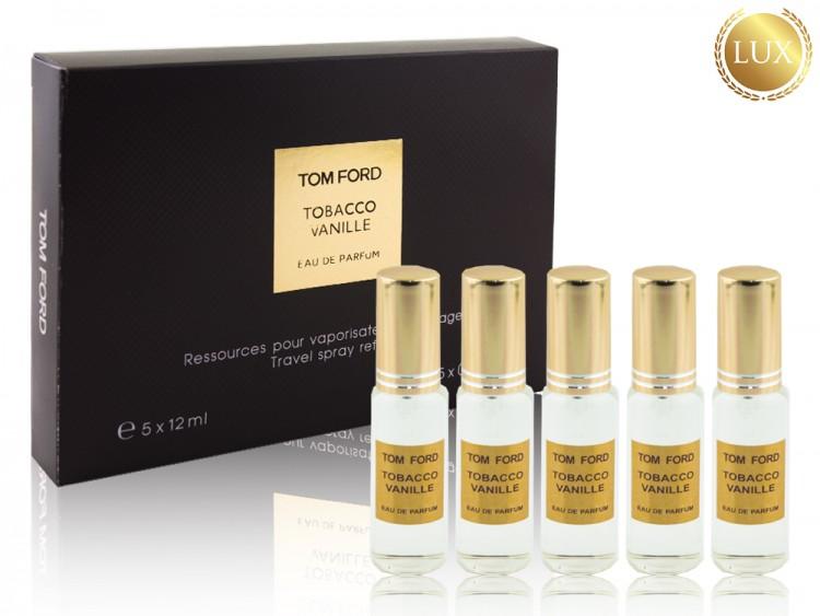 Набор парфюма Tom Ford Tobacco Vanille 5х12 мл