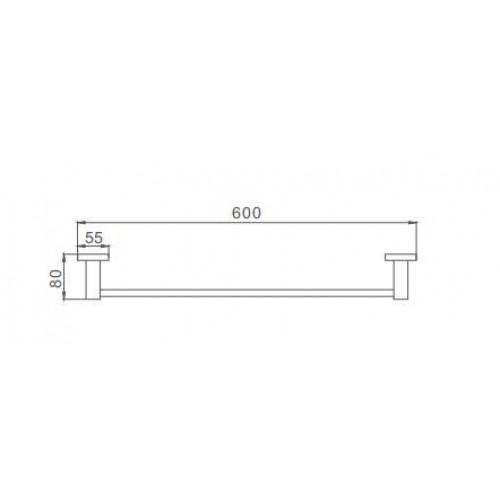 Квадратный полотенцедержатель Frap F30301