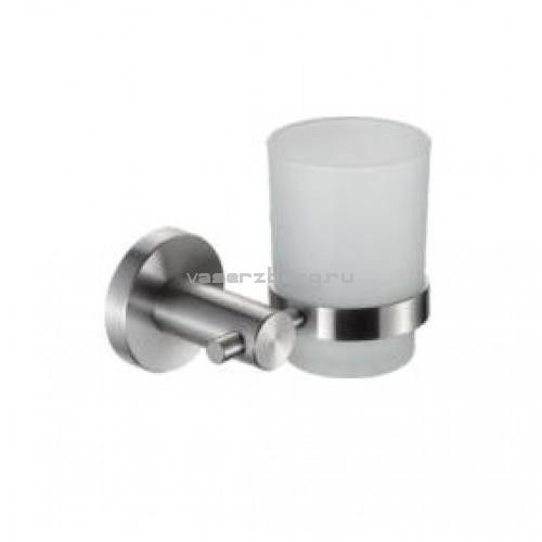 Стакан для зубных щеток Frap F30106 Сатин