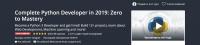 [Udemy] Полный Python Developer в 2019 году: c нуля до мастера (Andrei Neagoie)