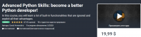 [Udemy] Продвинутые навыки Python: станьте лучшим разработчиком Python! (David Armend?riz)