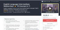 [Udemy] Intermediate мастеркласс английского языка 10 курсов в 1! (Gabriel Wallace)