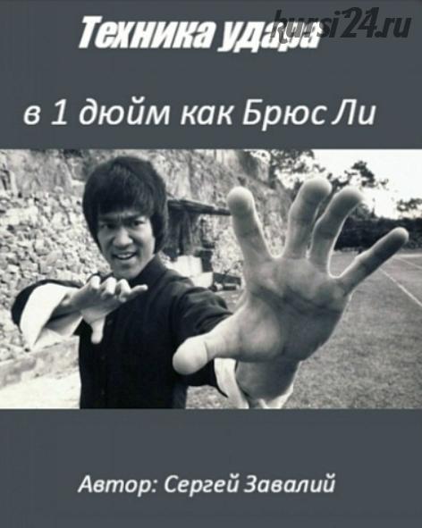 Обучение технике удара в 1 дюйм как Брюс Ли (Сергей Завалий)